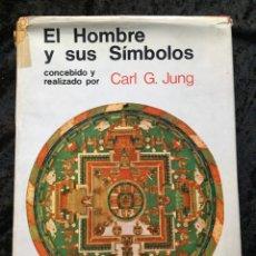 Libros de segunda mano: EL HOMBRE Y SUS SÍMBOLOS - CARL G. JUNG - AGUILAR - TAPA DURA - ILUSTRADO. Lote 189691928