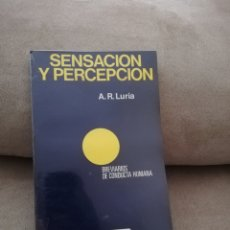 Libros de segunda mano: A.R. LURIA - SENSACIÓN Y PERCEPCIÓN - FONTANELLA 1986. Lote 190550708