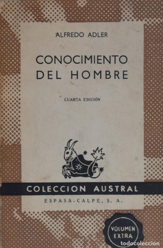 CONOCIMIENTO DEL HOMBRE - ALFREDO ADLER (Libros de Segunda Mano - Pensamiento - Psicología)