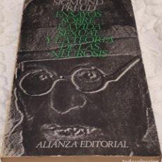 Libros de segunda mano: ENSAYOS SOBRE LA VIDA SEXUAL Y LA TEORIA DE LAS NEURONAS – SIGMUND FREUD. Lote 191479416
