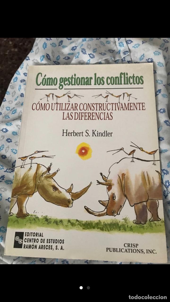 CÓMO GESTIONAR LOS CONFLICTOS. CÓMO UTILIZAR CONSTRUCTIVAMENTE LAS DIFERENCIAS (Libros de Segunda Mano - Pensamiento - Psicología)