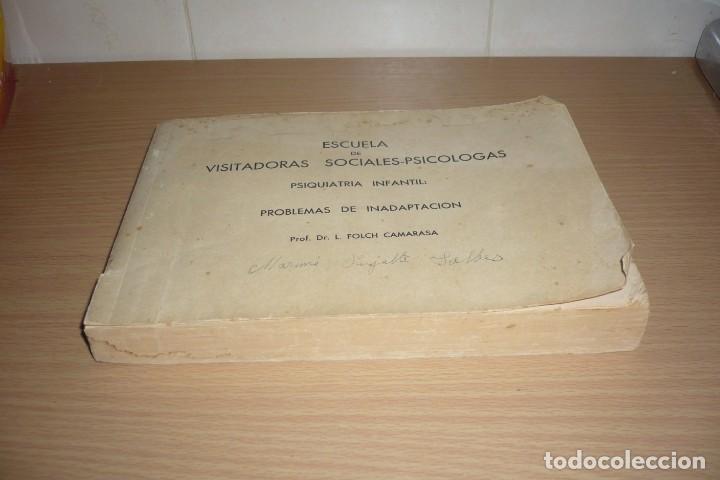 Libros de segunda mano: Antiguo Libro Visitadoras Sociales. Prof.Dr.L.Folch Camarasa - Foto 3 - 191534980