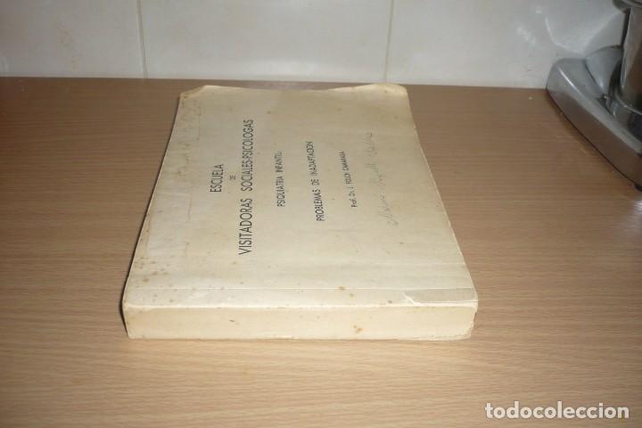 Libros de segunda mano: Antiguo Libro Visitadoras Sociales. Prof.Dr.L.Folch Camarasa - Foto 4 - 191534980