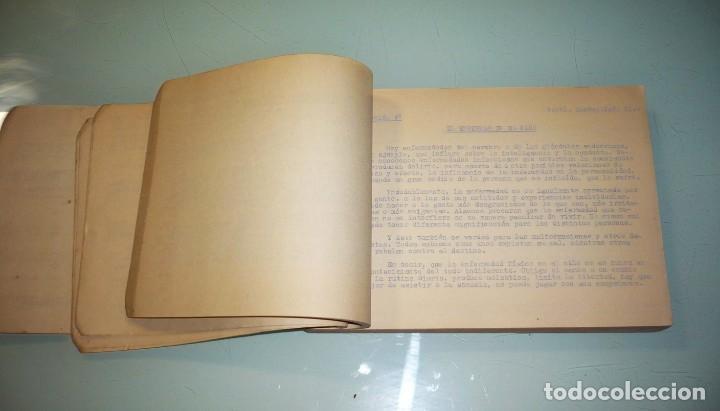 Libros de segunda mano: Antiguo Libro Visitadoras Sociales. Prof.Dr.L.Folch Camarasa - Foto 9 - 191534980