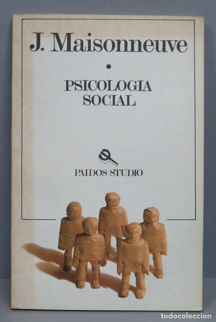 PSICOLOGIA SOCIAL. MAISONNEUVE (Libros de Segunda Mano - Pensamiento - Psicología)