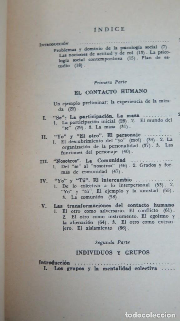 Libros de segunda mano: PSICOLOGIA SOCIAL. maisonneuve - Foto 2 - 191916128