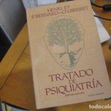 Livros em segunda mão: TRATADO DE PSIQUIATRIA - HENRI EY, P. BERNARD-CH.BRISSET - TORAY-MASSON. Lote 193237046