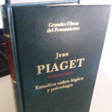 Libros de segunda mano: ESTUDIOS SOBRE LÓGICA Y PSICOLOGÍA - PIAGET, J.. Lote 193673493