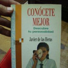 Libros de segunda mano: CONÓCETE MEJOR, JAVIER DE LAS HERAS. L.6921-130. Lote 193782396
