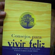 Libros de segunda mano: CONSEJOS PARA VIVIR FELIZ, BERNIE S. SIEGEL. L.6921-148. Lote 193784870