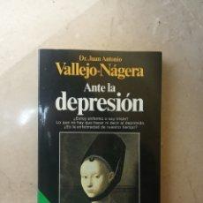 Libros de segunda mano: LIBRO LA DEPRESIÓN. Lote 194101406