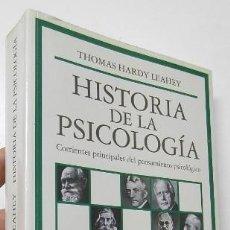 Libros de segunda mano: HISTORIA DE LA PSICOLOGÍA - THOMAS HARDY LEAHEY. Lote 194330812