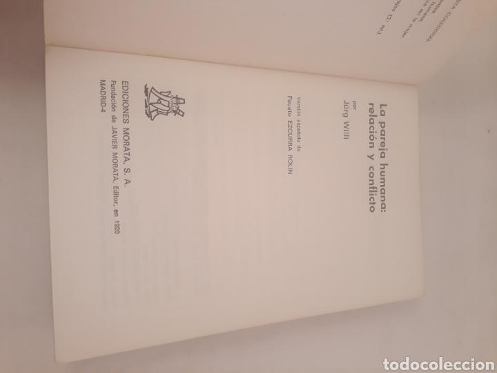 Libros de segunda mano: La pareja humana:relacion y conflicto.Ediciones Morata.J Willi. - Foto 3 - 194499641