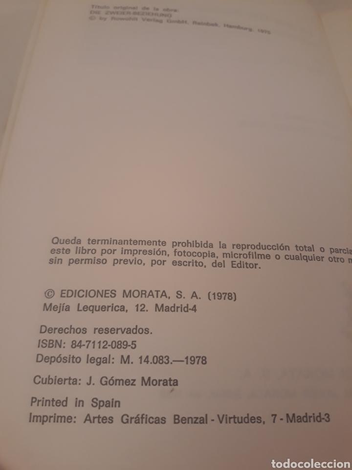 Libros de segunda mano: La pareja humana:relacion y conflicto.Ediciones Morata.J Willi. - Foto 4 - 194499641