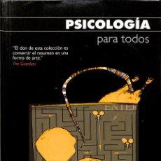 Libros de segunda mano: PSICOLOGÍA PARA TODOS - NIGEL C. BENSON - EDICIONES PAIDÓS IBÉRICA. Lote 194858405