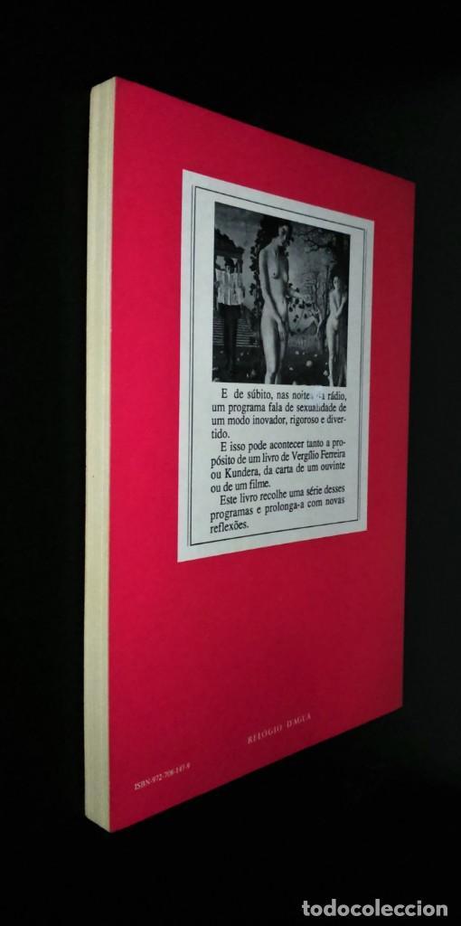 Libros de segunda mano: O Sexo dos Anjos de Júlio Machado Vaz - Foto 5 - 194899442