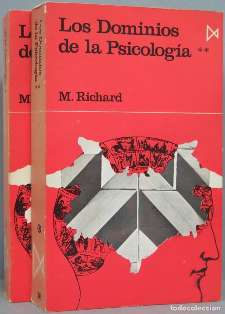 LOS DOMINIOS DE LA PSICOLOGÍA. RICHARD. 2 TOMOS (Libros de Segunda Mano - Pensamiento - Psicología)