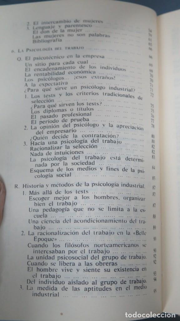 Libros de segunda mano: LOS DOMINIOS DE LA PSICOLOGÍA. RICHARD. 2 TOMOS - Foto 3 - 194901105