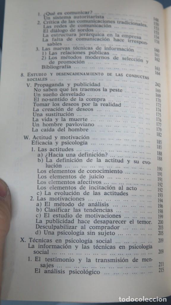 Libros de segunda mano: LOS DOMINIOS DE LA PSICOLOGÍA. RICHARD. 2 TOMOS - Foto 5 - 194901105