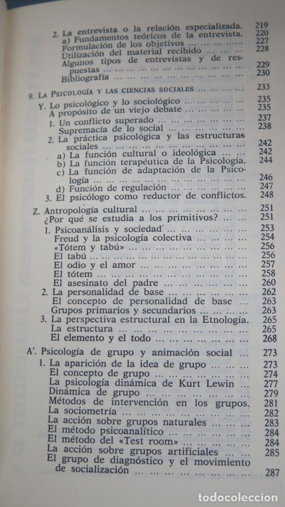 Libros de segunda mano: LOS DOMINIOS DE LA PSICOLOGÍA. RICHARD. 2 TOMOS - Foto 6 - 194901105