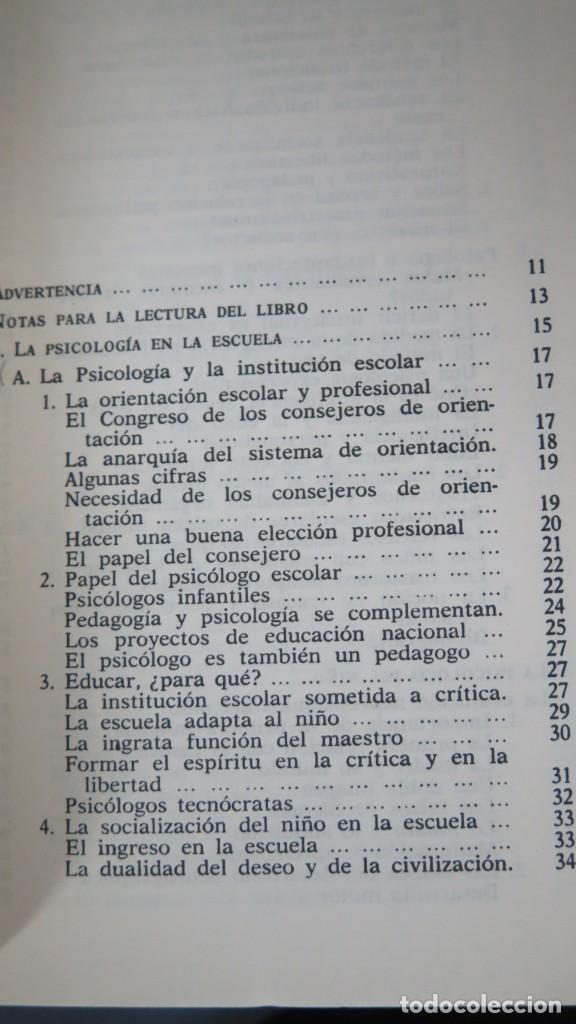 Libros de segunda mano: LOS DOMINIOS DE LA PSICOLOGÍA. RICHARD. 2 TOMOS - Foto 9 - 194901105