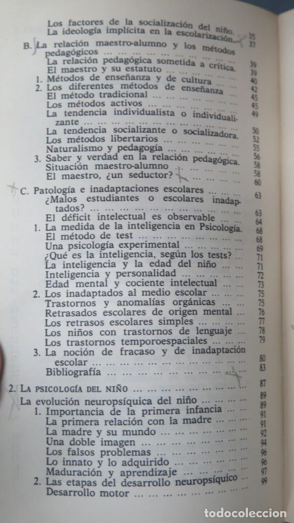 Libros de segunda mano: LOS DOMINIOS DE LA PSICOLOGÍA. RICHARD. 2 TOMOS - Foto 10 - 194901105