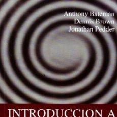 Libros de segunda mano: INTRODUCCIÓN A LA PSICOTERAPIA. PS-182. Lote 194925623