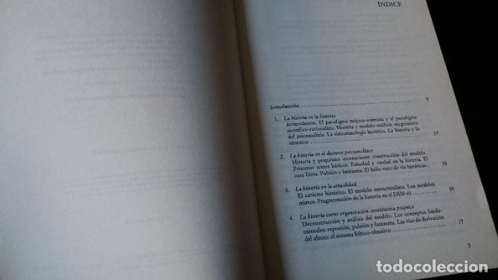 Libros de segunda mano: LA HISTERIA Y LO OBSESIVO - ALFREDO CAPELLÁ - EDITORIAL HERDER BARCELONA 1996 - Foto 3 - 194956860
