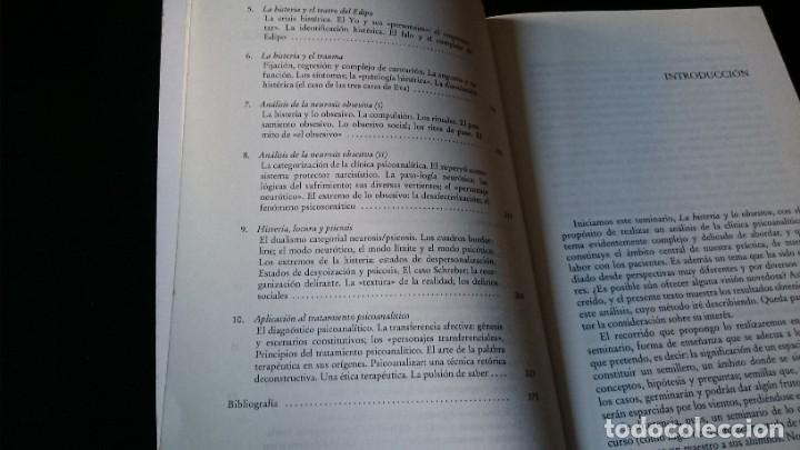 Libros de segunda mano: LA HISTERIA Y LO OBSESIVO - ALFREDO CAPELLÁ - EDITORIAL HERDER BARCELONA 1996 - Foto 4 - 194956860