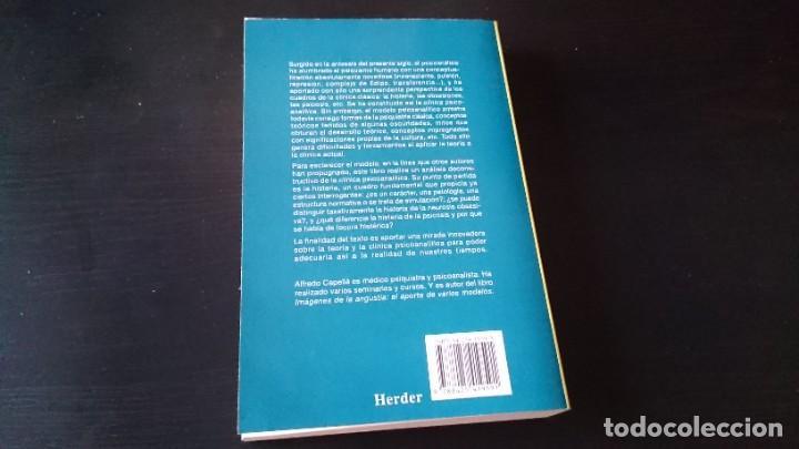 Libros de segunda mano: LA HISTERIA Y LO OBSESIVO - ALFREDO CAPELLÁ - EDITORIAL HERDER BARCELONA 1996 - Foto 5 - 194956860