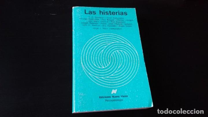 LAS HISTERIAS - JORGE J SAURI - EDICIONES NUEVA VISIÓN BUENOS AIRES 1986 - 1 EDICIÓN (Libros de Segunda Mano - Pensamiento - Psicología)