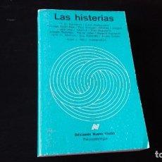 Libros de segunda mano: LAS HISTERIAS - JORGE J SAURI - EDICIONES NUEVA VISIÓN BUENOS AIRES 1986 - 1 EDICIÓN . Lote 194957467