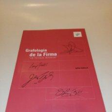 Libros de segunda mano: RITA CUELLO , GRAFOLOGIÁ DE LA FIRMA , UN PAISAJE INTERIOR. Lote 195154162