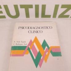 Libros de segunda mano: PSICODIAGNOSTICO CLINICO.BIBLIOTECA DE PSICOLOGIA.. Lote 195210717