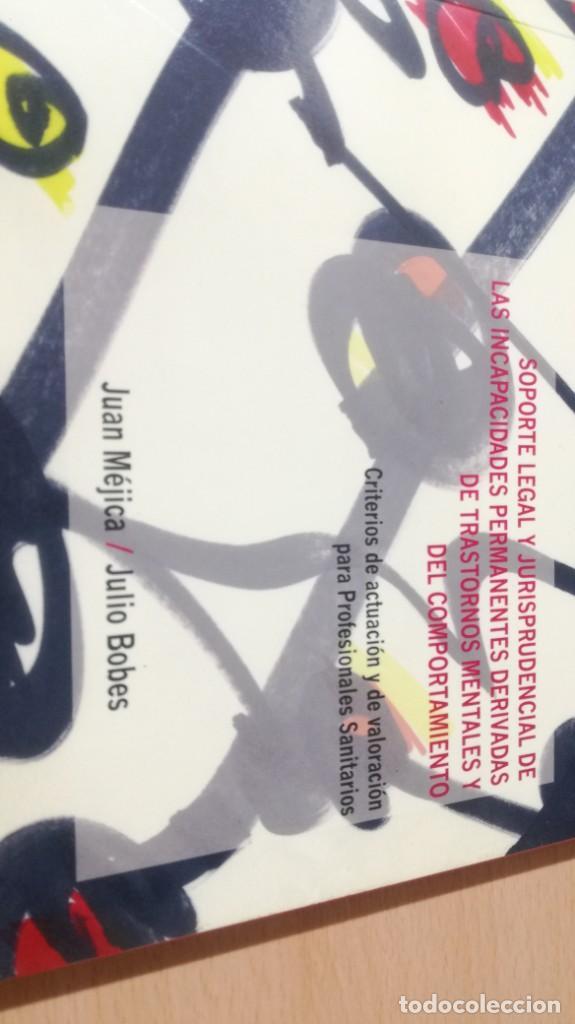 Libros de segunda mano: SOPORTE LEGAL JURISPRUDENCIAL INCAPACIDADES TRANSTORNOS MENTALES COMPORTAMIENTO/ PSIQUIATRIAK503 - Foto 3 - 195232546
