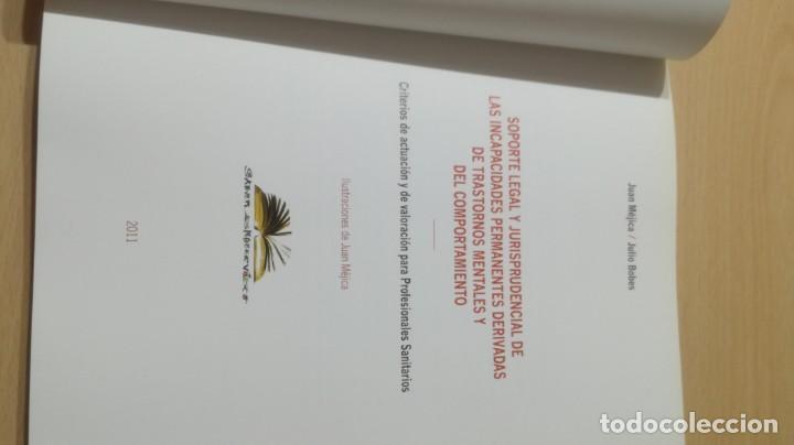 Libros de segunda mano: SOPORTE LEGAL JURISPRUDENCIAL INCAPACIDADES TRANSTORNOS MENTALES COMPORTAMIENTO/ PSIQUIATRIAK503 - Foto 8 - 195232546