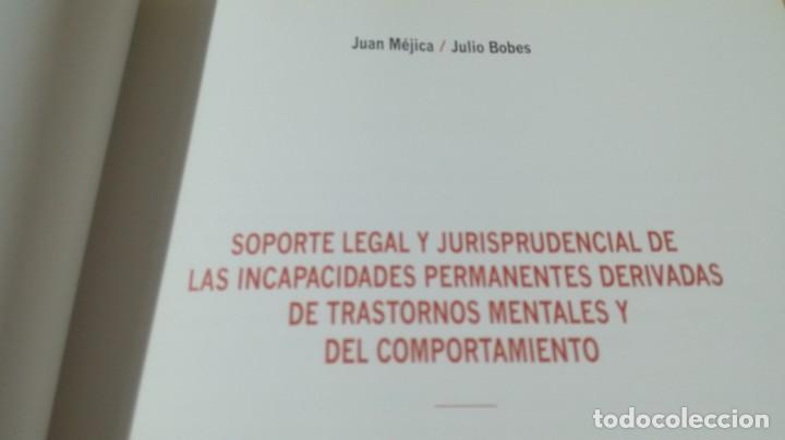 Libros de segunda mano: SOPORTE LEGAL JURISPRUDENCIAL INCAPACIDADES TRANSTORNOS MENTALES COMPORTAMIENTO/ PSIQUIATRIAK503 - Foto 9 - 195232546