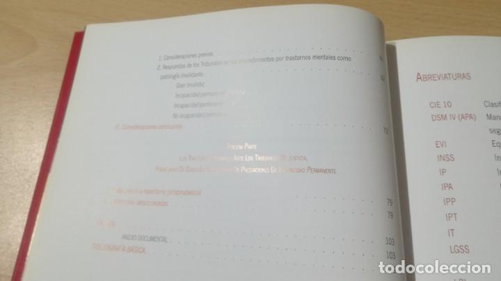Libros de segunda mano: SOPORTE LEGAL JURISPRUDENCIAL INCAPACIDADES TRANSTORNOS MENTALES COMPORTAMIENTO/ PSIQUIATRIAK503 - Foto 14 - 195232546