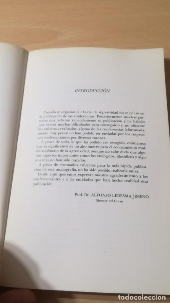 Libros de segunda mano: I CURSO MONOGRAFICO SOBRE AGRESIVIDAD UNIVESIDAD SALAMANCA/ PSIQUIATRIAK503 - Foto 9 - 195233233