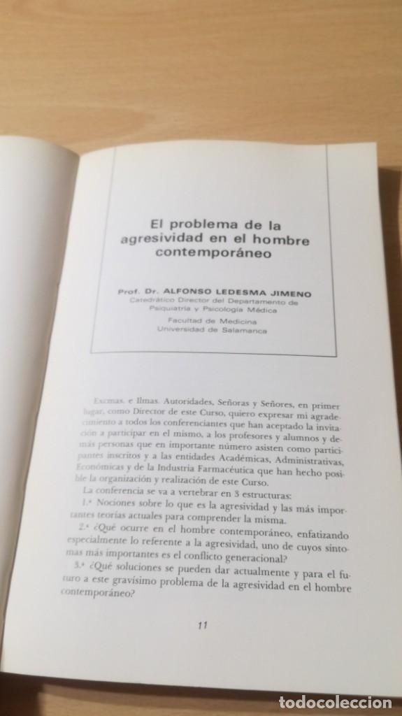 Libros de segunda mano: I CURSO MONOGRAFICO SOBRE AGRESIVIDAD UNIVESIDAD SALAMANCA/ PSIQUIATRIAK503 - Foto 10 - 195233233