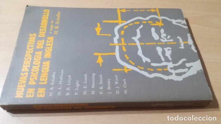 NUEVAS PERSPECTIVAS PSICOLOGIA DEL DESARROLLO EN LENGUA INGLESA H R SCHAFFER/ PSIQUIATRIAK503 (Libros de Segunda Mano - Pensamiento - Psicología)