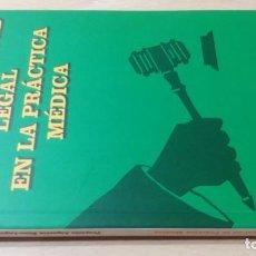 Libros de segunda mano: RESPONSABILIDAD LEGAL PRACTICA MEDICA - ASPECTOS ETICO LEGALES PSIQUIATRIAK503. Lote 195234545