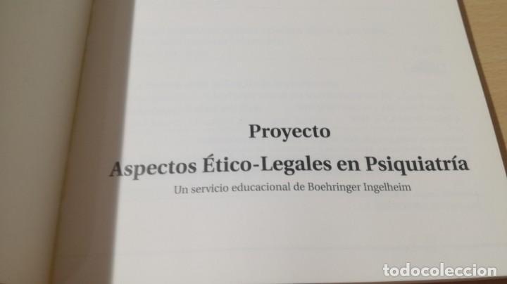 Libros de segunda mano: RESPONSABILIDAD LEGAL PRACTICA MEDICA - ASPECTOS ETICO LEGALES PSIQUIATRIAK503 - Foto 4 - 195234545