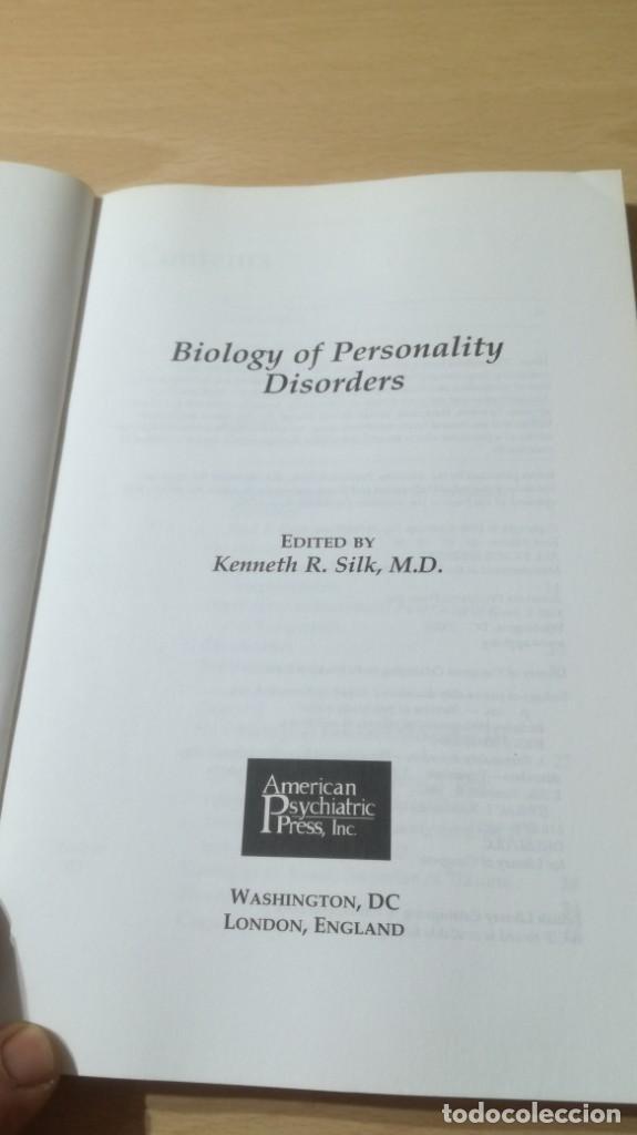 Libros de segunda mano: BIOLOGY OF PERSONALITY SISORDERS EN INGLES/ PSIQUIATRIAK503 - Foto 5 - 195234566