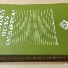 Libros de segunda mano: LA DEPRESION EN DISTINTOS NIVELES ASISTENCIALES - P T D ESPAÑA/ PSIQUIATRIAK505. Lote 195234726