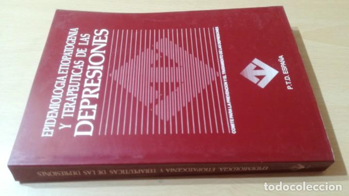 EPIDEMIOLOGIA Y TERAPEUTICAS DE LAS DEPRESIONES - P T D ESPAÑA/ PSIQUIATRIAK505 (Libros de Segunda Mano - Pensamiento - Psicología)