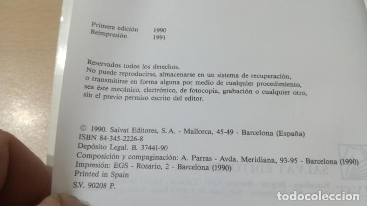 Libros de segunda mano: TRASTORNOS AFECTIVOS: ANSIEDAD Y DEPRESION - J VALLEJO - C GASTO - SALVAT/ PSIQUIATRIAK505 - Foto 6 - 195234865