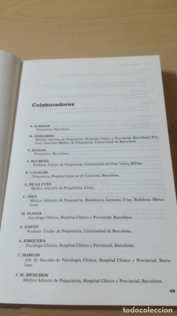 Libros de segunda mano: TRASTORNOS AFECTIVOS: ANSIEDAD Y DEPRESION - J VALLEJO - C GASTO - SALVAT/ PSIQUIATRIAK505 - Foto 7 - 195234865