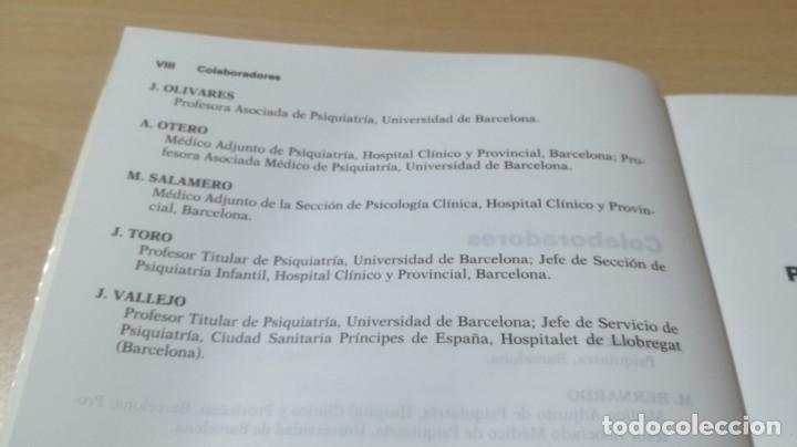 Libros de segunda mano: TRASTORNOS AFECTIVOS: ANSIEDAD Y DEPRESION - J VALLEJO - C GASTO - SALVAT/ PSIQUIATRIAK505 - Foto 8 - 195234865