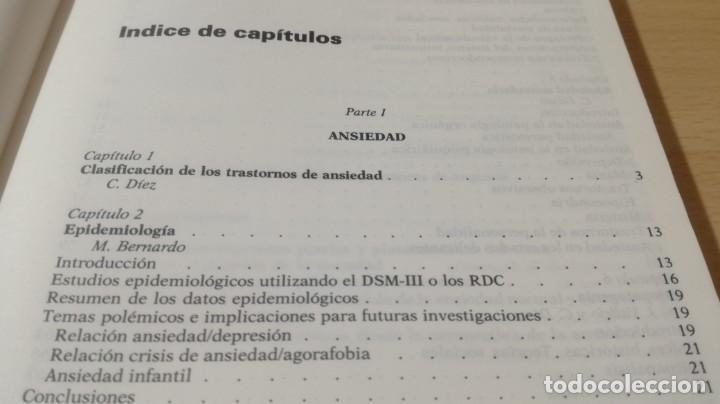Libros de segunda mano: TRASTORNOS AFECTIVOS: ANSIEDAD Y DEPRESION - J VALLEJO - C GASTO - SALVAT/ PSIQUIATRIAK505 - Foto 11 - 195234865